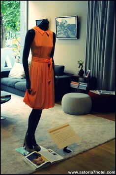 #AudreyHepburn in Paris at the #ExpoA7 @Astoria7Hotel #Movies #Dresses #Drawings