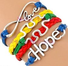 Help Spread Autism awareness with this super cute bracelet.