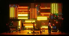 """Passing Strange"" Set design by David Korins"