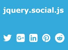 jquery.social.js is a lightweight #jQuery plugin used for generating custom #social links to share your html content specified in the HTML5 meta & open graph tags.