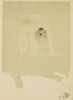 Auguste Rodin, b.1870-1917  Camera Work XXXIV/XXXV, 1911  26.4 x 18.5 cm  Coloured Callotype