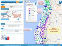 Calculadora en línea permite analizar millones de datos climáticos nacionales