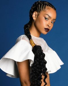 Popular afro hairstyles for woman – My hair and beauty Two Braid Hairstyles, African Braids Hairstyles, My Hairstyle, Black Women Hairstyles, Two Cornrow Braids, Funky Braids, Hairstyles Pictures, Black Girl Braids, Braids For Black Women