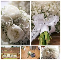 All White Wedding Flowers Bridal Bouquet Button Holes Photography Northern Ireland