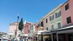Veli Losinj ~ Croatia 👋🏼 ~ Summer Holidays ☀️ ~ Ani Life 🌸 Croatia, Street View, Holidays, Mansions, House Styles, Summer, Life, Sailing, Vacations