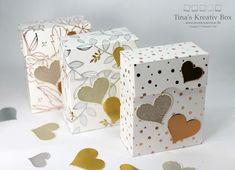 Bonbon Schachtel Frühlingsglanz - mit Produkten von Stampin' Up!