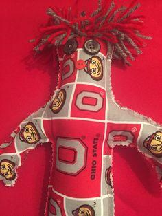 A personal favorite from my Etsy shop https://www.etsy.com/listing/245406236/ohio-buckeye-doll-osu-doll-football