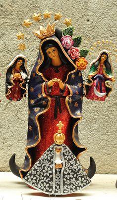 Virgins in Clay ~ Concepcion Aguilar ~Oaxaca by Teyacapan
