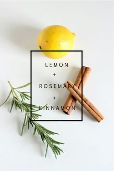 Lemon Rosemary Cinnamon Potpourri
