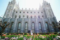 salt lake temple wedding. a pretty lds wedding in spring. krystalwaresphoto.com