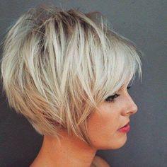 17 Bedövning blonda frisyrer för kommande vinter! - Kort Har