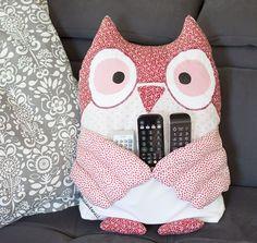 #Couture: mon hibou porte-télécommandes • Oh Happy DIY!