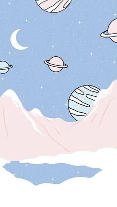 Cute Pastel Wallpaper, Soft Wallpaper, Cute Patterns Wallpaper, Aesthetic Pastel Wallpaper, Kawaii Wallpaper, Tumblr Wallpaper, Aesthetic Wallpapers, Aesthetic Backgrounds, Space Phone Wallpaper