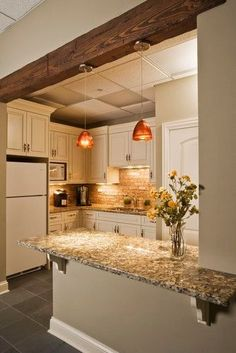 BRICK BACKSPLASH | Kitchenette - traditional - spaces - chicago | Great Rooms…
