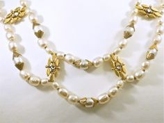 Beautiful Baroque Pearls by the queen of costume, Miriam Haskell