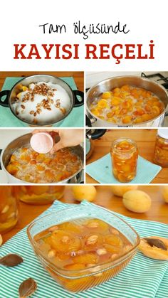 Apricot Jam Recipe (with video) - In Full Consistency with Tricks - Yummy Recipes Healthy Eating Tips, Healthy Nutrition, Apricot Jam Recipes, Good Food, Yummy Food, Yummy Recipes, Vegetable Drinks, Turkish Recipes, Food Pictures