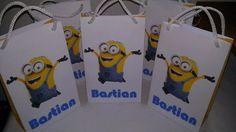 bolsas personalizadas para cumple con manija! mas grandes!!