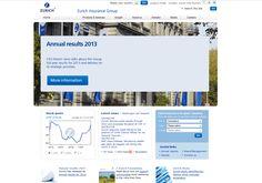 webdesign screenshot for inspirations our work on: www.resign.ch/webagentur