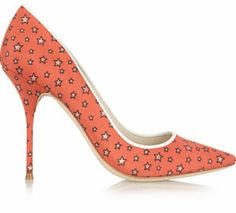 J. Crew and Sophia Webster Printed Twill Pumps