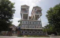 In beeld: merkwaardige huizen