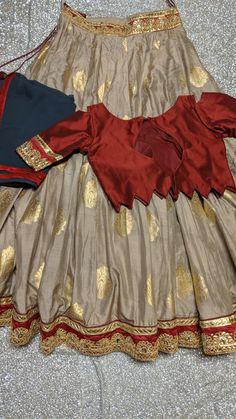 Lehnga choli from Priti collections Stitched/Ready to ship from USA. Contact # Lehnga choli from Priti collections Stitched/Ready to ship from USA. Half Saree Designs, Fancy Blouse Designs, Choli Designs, Kurta Designs Women, Kurti Neck Designs, Designs For Dresses, Lehenga Designs, Lehnga Dress, Lehenga Choli