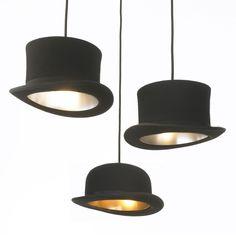Top hat lights.