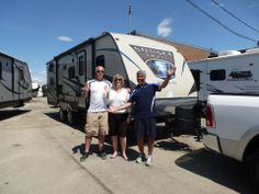 Congrats to Ralph & Kerrie.  Enjoy your new Sunset Trail Super Lite Travel Trailer.  Thank you for choosing Globetrotter RV.    https://www.facebook.com/photo.php?fbid=10152462609112430