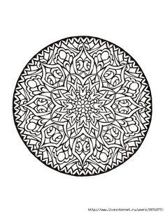 Dover Coloring Book - Mystical Mandala Coloring Book