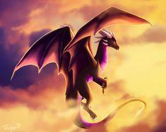 Sahriel Dragon by Tatujapa.deviantart.com on @DeviantArt