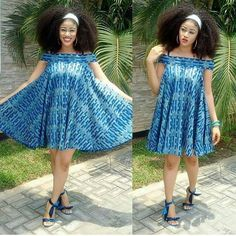 The beautiful rocked our Elvaria dress so stylishly Designed by Short African Dresses, Latest African Fashion Dresses, African Print Dresses, African Print Clothing, African Print Fashion, Africa Fashion, African Traditional Dresses, African Attire, African Women