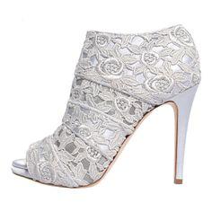 MARY KYRI | LARSHA BOOTS | PERLA GREY Italian-Made Designer Footwear on Brands Exclusive♥♥