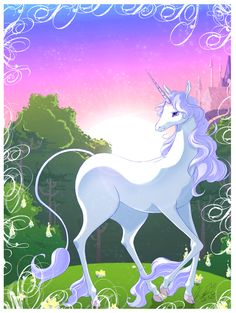 The last Unicorn by EvilQueenie.deviantart.com on @deviantART