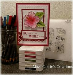 On my group page I will be posting recipes of a few last minute Mother's Day cards and gifts you can make. I will be featuring various Close to My Heart products that you can order on my website www.MissCarrie.ctmh.com