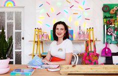 Electric Confetti — The Design Files   Australia's most popular design blog.