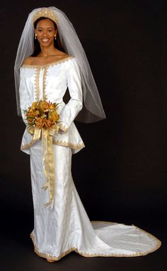 African Wedding Gowns | Pictures of African Wedding Dress