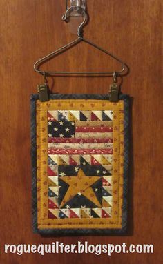 "July/August 2003 issue of Fons & Porter's Love of Quilting. It finishes at 4""x6""."