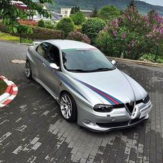 Image result for alfa 156 silver