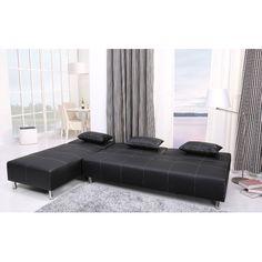 Gold Sparrow Atlanta Convertible Sectional Sofa | AllModern