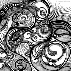 Zen Doodle Designs | Zen-Doodles by lana By far one if the most beautiful pieces I have seen. Amazing!!!!