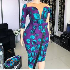 The ideal source for your afro chic life style and fashion site African Fashion Ankara, African Inspired Fashion, Latest African Fashion Dresses, African Print Fashion, African Prints, Ankara Short Gown Styles, Short Gowns, African Dress Patterns, African Prom Dresses