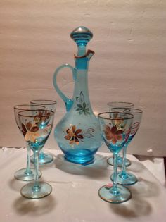 Hey, I found this really awesome Etsy listing at https://www.etsy.com/listing/195081773/vintage-electric-blue-romanian-hand