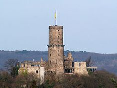 The Godesburg is a castle in Bad Godesberg, a formerly independent part of Bonn, Germany.  Built in the early 13th century on the Godesberg, a hill of volcanic origin, it was largely destroyed following a siege in 1583 at the start of the Cologne War.[1] In 1891, the German emperor Wilhelm II donated the castle's ruin to the city of Bad Godesberg.