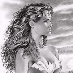 This is a crop of an amazing Wonder Woman drawing from 2004 that appears in the Al Rio Tribute Art Book Volume One. Now available here: http://alrioart.com/categories.php?cat_id=98