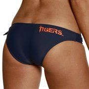 Auburn Tigers Ladies Navy Blue Spring Breaker Bikini Bottom