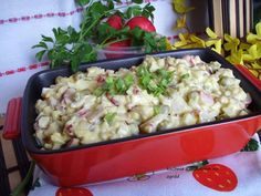 Appetizer Recipes, Appetizers, Polish Recipes, Tortellini, Aga, Potato Salad, Cauliflower, Macaroni And Cheese, Salads