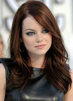 Cool skin, blue eyes, auburn hair