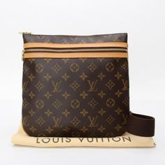 Louis Vuitton Pochette Bosphore Monogram Cross body bags Brown Canvas M40044