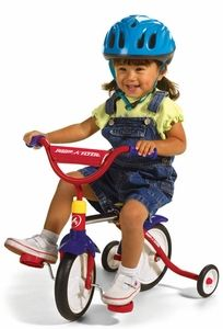 The Right Kind of Third Wheel via Toddler Tables and Chairs - Great article on tricycles, etc.