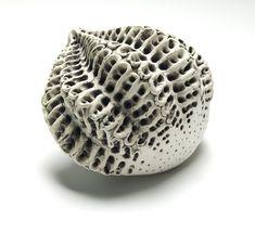 """""""Propagating Wall Form' by ceramic artist Debra Fleury. via fleuryblue.wordpress"""