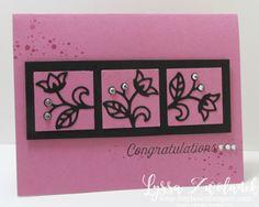 Sugarplum card stampin up congratulations congrats song of my heart